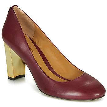 Čevlji  Ženske Salonarji Lauren Ralph Lauren 802688958-004 Bordo