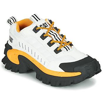 Čevlji  Moški Nizke superge Caterpillar INTRUDER Bela
