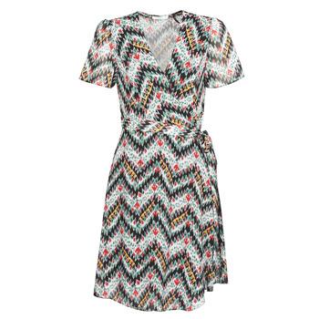 Oblačila Ženske Kratke obleke Les Petites Bombes V7205 Večbarvna