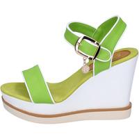 Čevlji  Ženske Sandali & Odprti čevlji Enrico Coveri Sandale BP388 Zelena