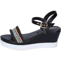 Čevlji  Ženske Sandali & Odprti čevlji Enrico Coveri Sandale BP389 Črna