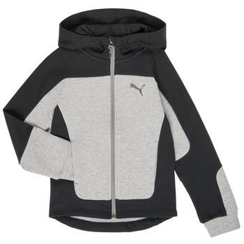 Oblačila Dečki Puloverji Puma EVOST HOOD JKT Siva