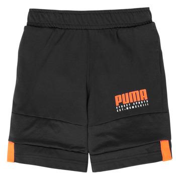 Oblačila Dečki Kratke hlače & Bermuda Puma ALPHA JERSEY SHORT Črna