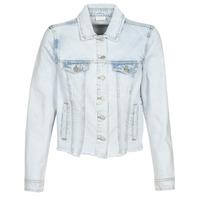 Oblačila Ženske Jeans jakne Vila VIANNABEL Modra / Svetla