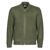 Oblačila Moški Usnjene jakne & Sintetične jakne Selected SLHB01 Kaki