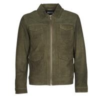 Oblačila Moški Usnjene jakne & Sintetične jakne Selected SLHRALF Kaki