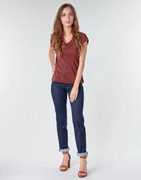 Oblačila Ženske Jeans straight Lee MARION STRAIGHT Rinse