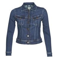 Oblačila Ženske Jeans jakne Lee SLIM RIDER JACKET Tmavá / Hunt