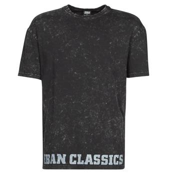 Oblačila Moški Majice s kratkimi rokavi Urban Classics TOBI Črna