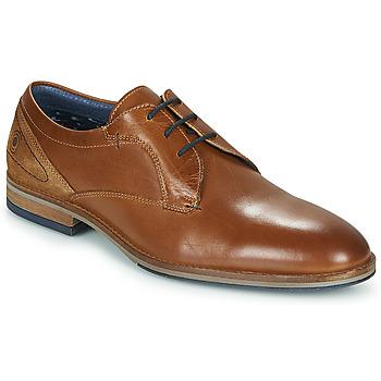 Čevlji  Moški Čevlji Derby Casual Attitude MONA Cognac
