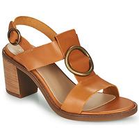 Čevlji  Ženske Sandali & Odprti čevlji Casual Attitude MELINA Kamel