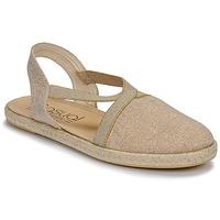 Čevlji  Ženske Sandali & Odprti čevlji Casual Attitude MISSA Bež / Zlata