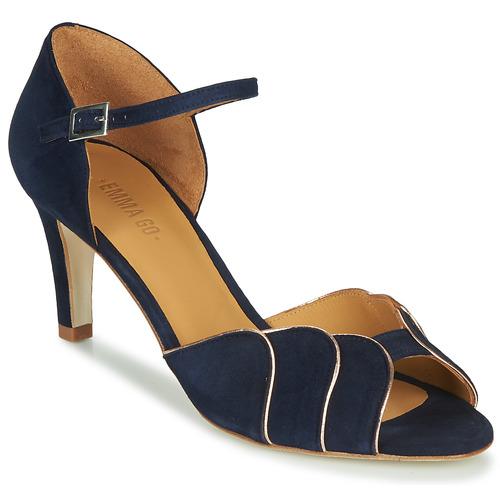 Čevlji  Ženske Sandali & Odprti čevlji Emma Go PHOEBE Modra