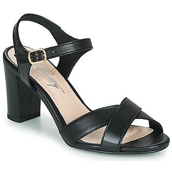 Čevlji  Ženske Sandali & Odprti čevlji Betty London MOUDINE Črna