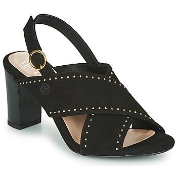 Čevlji  Ženske Sandali & Odprti čevlji Betty London MADINE Črna