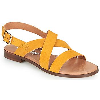 Čevlji  Ženske Sandali & Odprti čevlji Betty London MADISSON Rumena