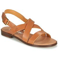 Čevlji  Ženske Sandali & Odprti čevlji Betty London MADI Cognac