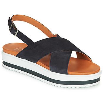 Čevlji  Ženske Sandali & Odprti čevlji Betty London MAFI Modra