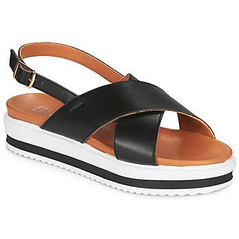 Čevlji  Ženske Sandali & Odprti čevlji Betty London MAFI Črna