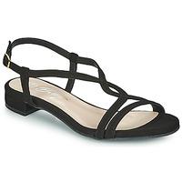 Čevlji  Ženske Sandali & Odprti čevlji Betty London MATISSO Črna