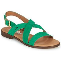 Čevlji  Ženske Sandali & Odprti čevlji Betty London MATOSSI Zelena
