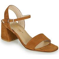 Čevlji  Ženske Sandali & Odprti čevlji Betty London MAKITA Cognac