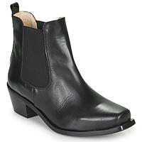 Čevlji  Ženske Gležnjarji Betty London MERKATO Črna