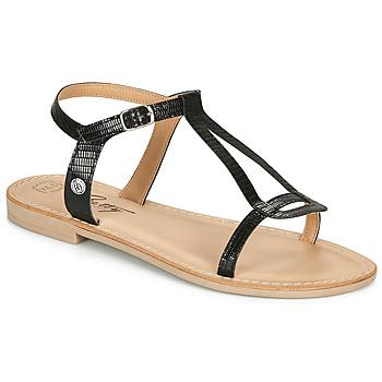Čevlji  Ženske Sandali & Odprti čevlji Betty London MISSINE Črna