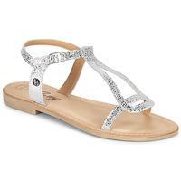 Čevlji  Ženske Sandali & Odprti čevlji Betty London MISSINE Srebrna