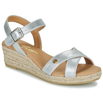 Čevlji  Ženske Sandali & Odprti čevlji Betty London GIORGIA Srebrna