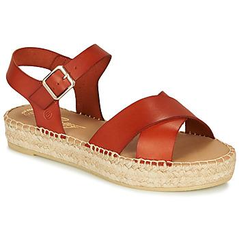 Čevlji  Ženske Sandali & Odprti čevlji Betty London MIZOU Kostanjeva