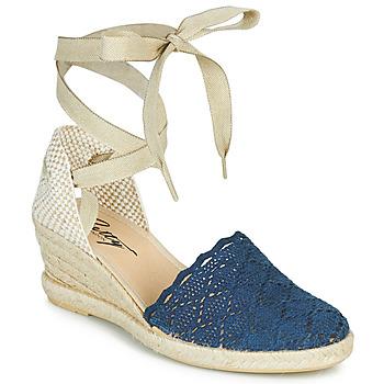 Čevlji  Ženske Sandali & Odprti čevlji Betty London MARISSI Modra