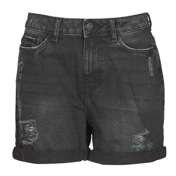 Oblačila Ženske Kratke hlače & Bermuda Noisy May NMSMILEY Črna