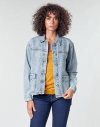 Oblačila Ženske Jakne & Blazerji Noisy May NMMELODIE Modra / Svetla