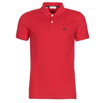Oblačila Moški Polo majice kratki rokavi Selected SLHARO Rdeča
