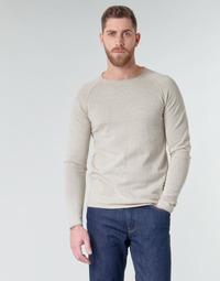 Oblačila Moški Puloverji Jack & Jones JJEUNION Bež