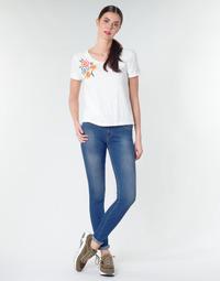 Oblačila Ženske Jeans skinny Replay LUZ Modra