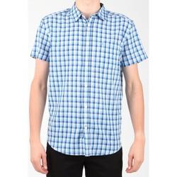 Oblačila Moški Srajce s kratkimi rokavi Wrangler S/S 1 PKT Shirt W5860LIRQ Multicolor