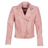 Oblačila Ženske Usnjene jakne & Sintetične jakne Betty London MARILINE Rožnata