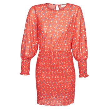 Oblačila Ženske Kratke obleke Moony Mood FANETTE Rdeča