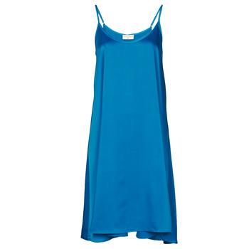 Oblačila Ženske Kratke obleke Moony Mood MOLETTE Modra