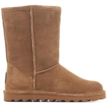 Čevlji  Ženske Škornji za sneg Bearpaw Elle Rjava