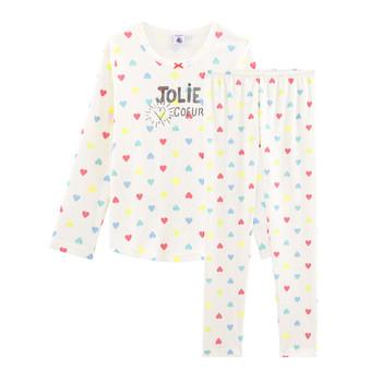 Oblačila Deklice Pižame & Spalne srajce Petit Bateau FIONA Večbarvna