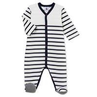 Oblačila Otroci Pižame & Spalne srajce Petit Bateau FUT Bela / Modra