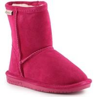 Čevlji  Deklice Škornji za sneg Bearpaw Emma Toddler Zipper 608TZ-671 Pom Berry pink
