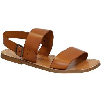 Čevlji  Moški Sandali & Odprti čevlji Gianluca - L'artigiano Del Cuoio 500 U CUOIO CUOIO Cuoio