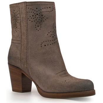 Čevlji  Ženske Gležnjarji Car Shoe KDT63H 0B2 F0308 Antracite