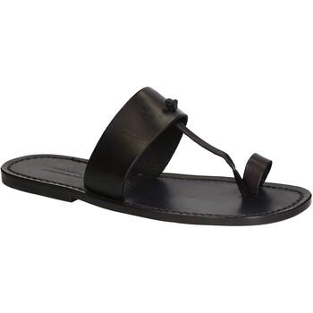 Čevlji  Moški Japonke Gianluca - L'artigiano Del Cuoio 554 U NERO CUOIO nero