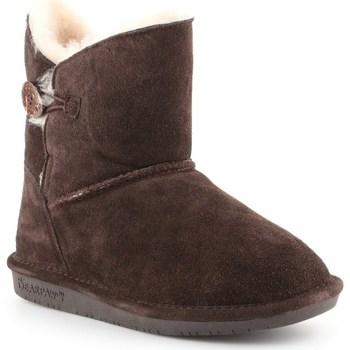 Čevlji  Ženske Škornji za sneg Bearpaw Rosie Rjava