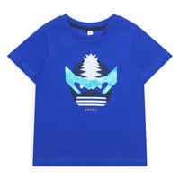 Oblačila Deklice Majice s kratkimi rokavi Esprit ENORA Modra
